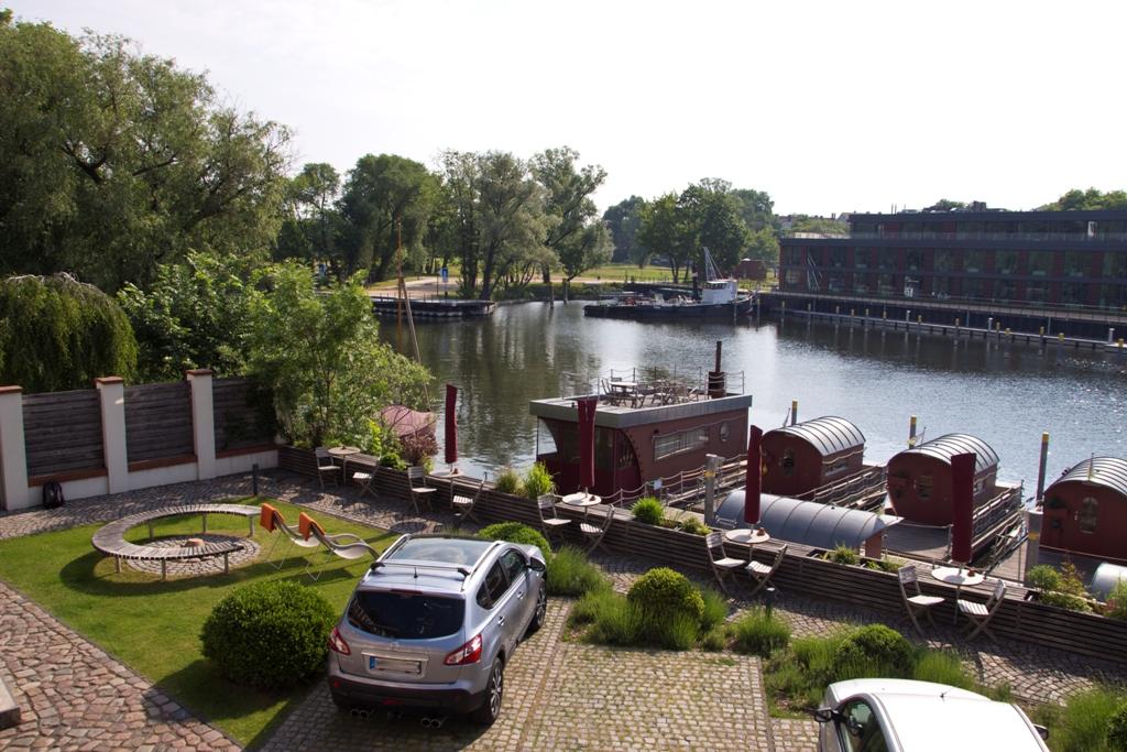 Blick von der Galerie auf die Havel