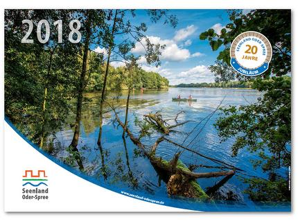 016 - Jubiläumskalender Seenland Oder-Spree 2018