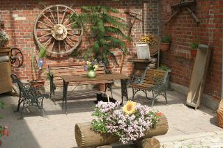 Ein gemütlicher Platz für die Gäste