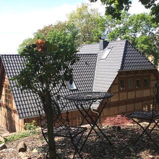 """Fachwerkhaus mit Ferienwohnung """"Pleissenhaus"""""""