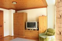 Livingroom Apartment Hornspitz | © Bleisch