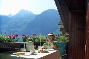 Ferienwohnung Wakolbinger, Frühstücken am Balkon | © Ruth Wakolbinger-Wieder