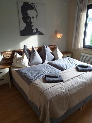 Doppelzimmer | © Ferienwohnungen Hinterer