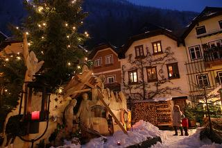 Christkindlmarkt in Hallstatt