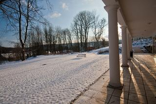 Schlosspark im Advent