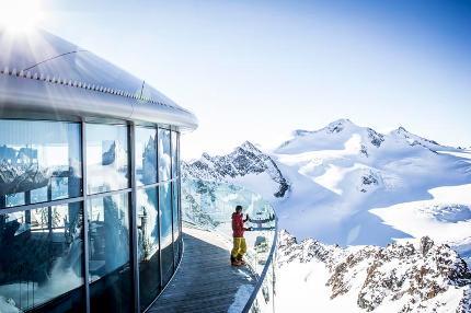 Berg- u. Talfahrt Gletscherexpress & Wildspitzbahn