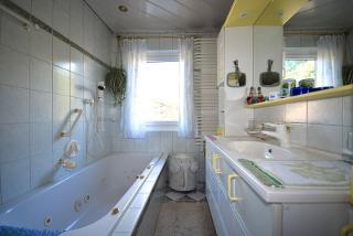 Badezimmer der Ferienwohnung Regina / Urheber: Torsten Kraft / Rechteinhaber: © Torsten Kraft