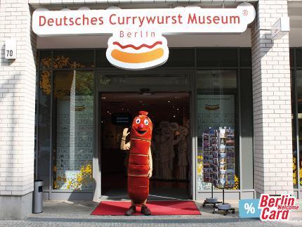 Currywurst Museum – Eintritt inkl. Kostprobe Berlin WelcomeCard