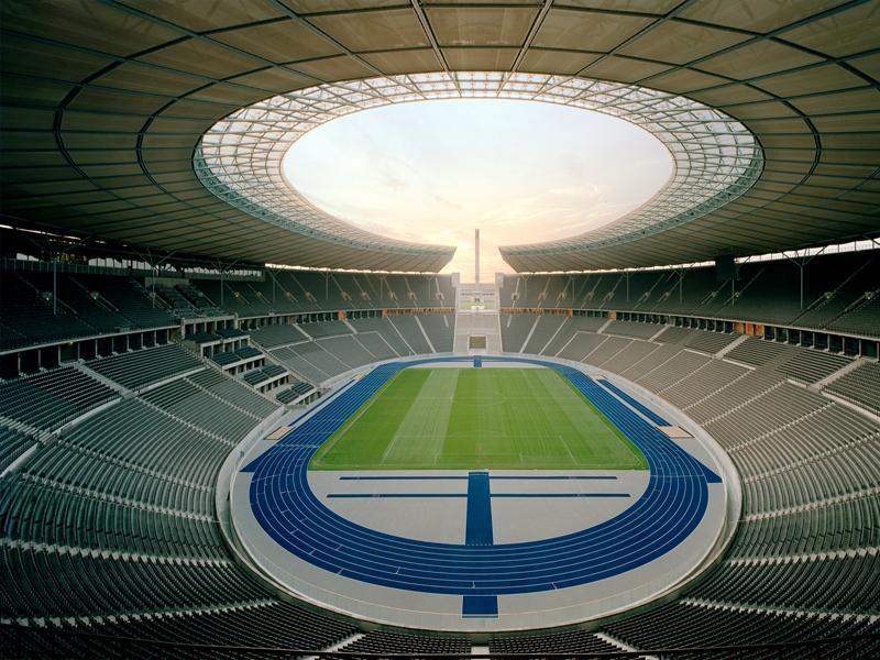 Olympiastadion Berlin Plätze
