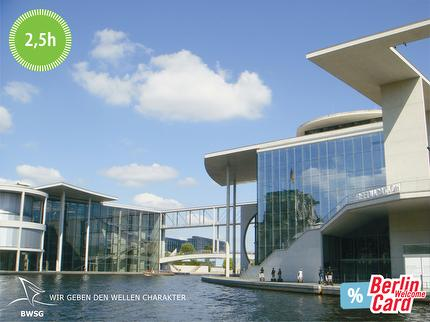 BWSG - EAST SIDE TOUR - Spree River Cruise by boat Berlin - 2.5 hours - ticket with Berlin WelcomeCard
