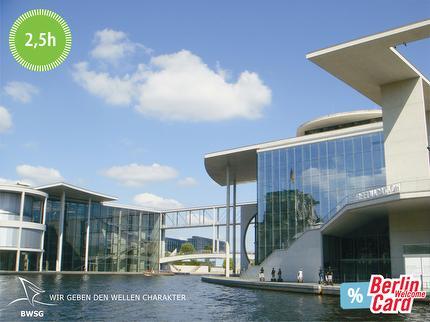 BWSG - EAST-SIDE-TOUR - Schiffsrundfahrt auf der Spree - 2,5 Stunden - Ticket mit Berlin WelcomeCard