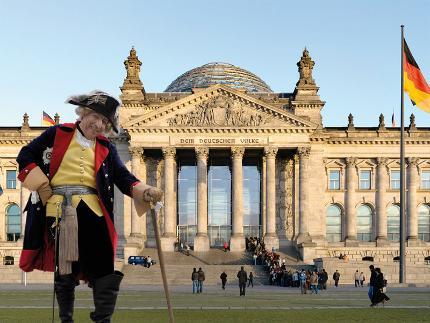 Alter Fritz Erlebnistour: Stadtführung in den Reichstag (in DE)