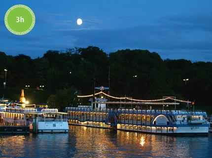 Stern und Kreisschiffahrt - Citytour by boat in the evening - 2,5 hours - Ticket adult