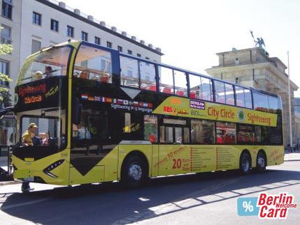 Berlin City Circle – Yellow Tour (2 Tage) Berlin WelcomeCard