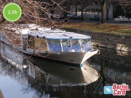 Stern und Kreisschiffahrt - New City Tour river cruise Berlin - 2.5 hours - ticket reduced (Berlin WelcomeCard Discount)