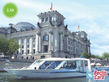 Stern und Kreisschiffahrt – Spreetour by boat to Müggelsee - 3,5 hours -  inkl. Berlin WelcomeCard Discount