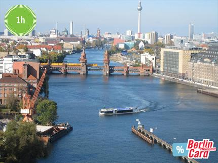 xReederei Riedel - City Centre Tour Berlin boat tour - 1 hour - Ticket reduced with Berlin WelcomeCard