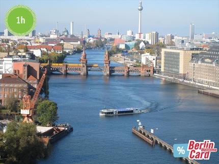 Reederei Riedel - Stadtkernfahrt Schiffstour Berlin - 1 Stunde - Ticket ermäßigt mit Berlin WelcomeCard
