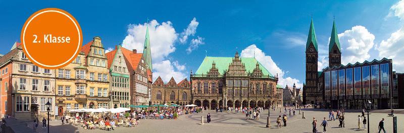 Bahnhit Bremen 2. Klasse / Urheber: Titus Czerski / BTZ Bremer Touristik-Zentrale / Rechteinhaber: © Titus Czerski / BTZ Bremer Touristik-Zentrale