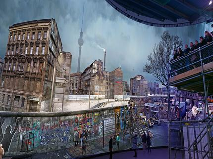 asisi Panorama Berlin: The Wall - Entrance ticket reduced (0-5 years)