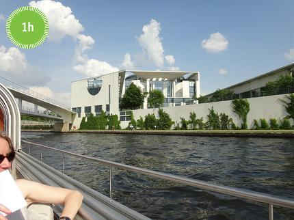 BWSG - City Spree Tour - City Spree River Cruise Berlin - 1 hour Tour - reduced ticket (free up to 6 years)