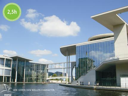 BWSG - EAST SIDE TOUR - Spree River Cruise by boat Berlin - 2.5 hours - reduced ticket (0-6 years)