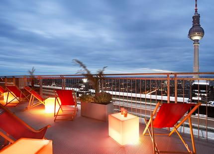 Eintritt: Dachterrasse Park Inn