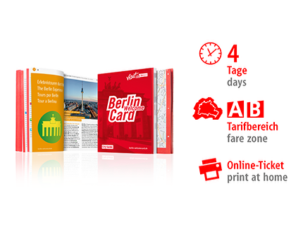 4 Tage AB | Berlin WelcomeCard 2018 | Online-Ticket