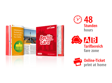48 Std. AB | Berlin WelcomeCard 2018 | Online-Ticket