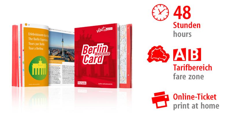 Berlin WelcomeCard 2018 / Urheber: © Graco GmbH & Co. KG / Rechteinhaber: © Berlin Tourismus & Kongress GmbH
