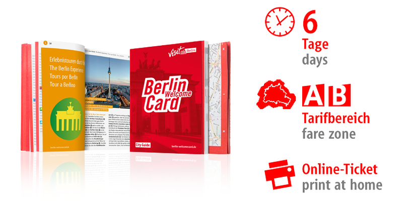 Berlin WelcomeCard 2018