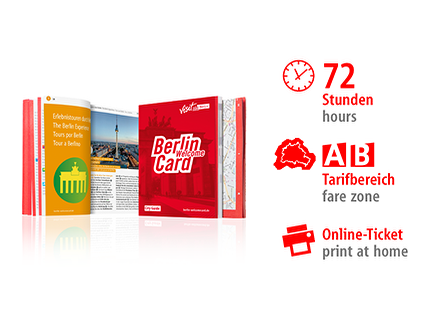 72 Std. AB | Berlin WelcomeCard 2018 | Online-Ticket