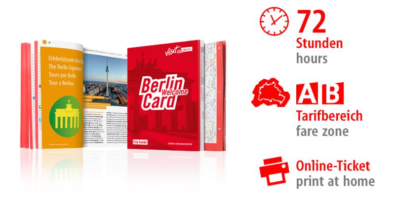 Berlin WelcomeCard 2018 / 作者: © Graco GmbH & Co. KG / 版权所有者: © Berlin Tourismus & Kongress GmbH