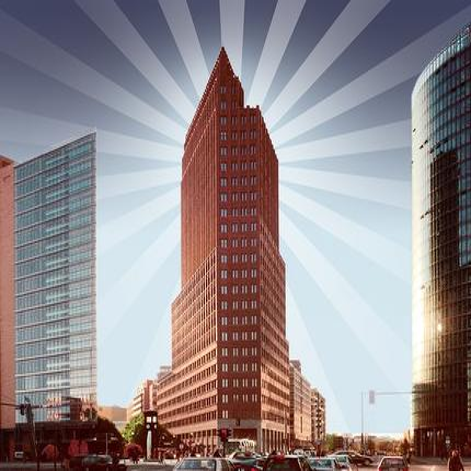 Panoramapunkt Berlin am Potsdamer Platz - Auffahrt inkl. Ausstellung - Ticket ermäßigt (Schwerbeschädigt)