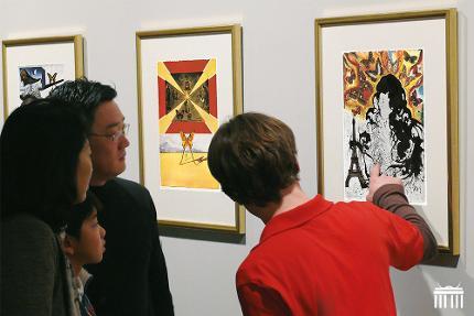 Dali-Ausstellung: Ticket Eintritt nur Eintritt Ermäßigt (Schüler/Student)