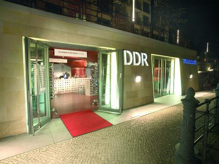 DDR Museum - Zeitfenster - Eintritt Schwerbeschädigt