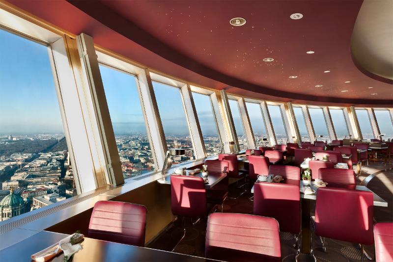 Tv Tower Berlin Window Table Restaurant Ticket Priority Entry