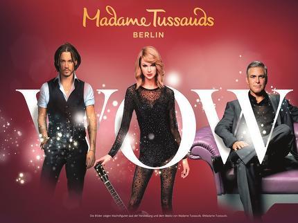 Madame Tussauds - Eintritt 3-14 Jahre