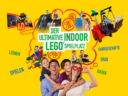 LEGOLAND® Discovery Center - Entrance ticket reduced (0-2 years)
