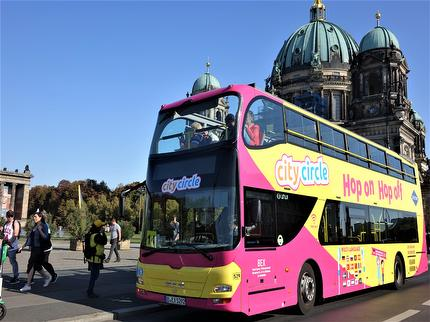 City Circle Sightseeing - Hop On Hop Off Sightseeing Bustour - Best of Berlin 24 Stunden - Ticket Gruppen ab 10 Personen