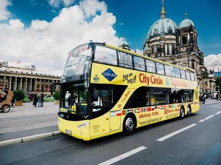 City Circle Sightseeing - Hop On Hop Off Sightseeing Bustour - Big Tic 24 Stunden - Ticket Kind 7-14 Jahre