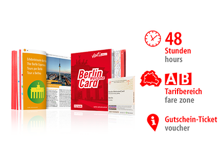 48 Std. AB | Berlin WelcomeCard | Voucher