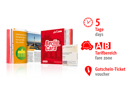 5 Tage AB | Berlin WelcomeCard | Voucher