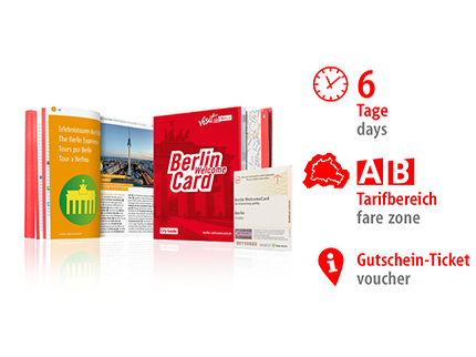 6 Tage AB | Berlin WelcomeCard | Voucher