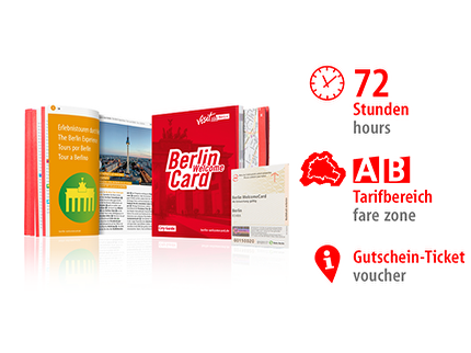 72 Std. AB | Berlin WelcomeCard | Voucher