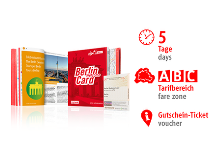 5 days ABC | Berlin WelcomeCard 2019 | voucher