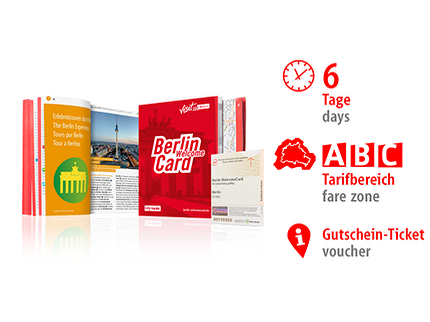 6 Tage ABC | Berlin WelcomeCard | Voucher