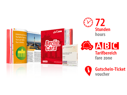 72 Std. ABC | Berlin WelcomeCard | Voucher