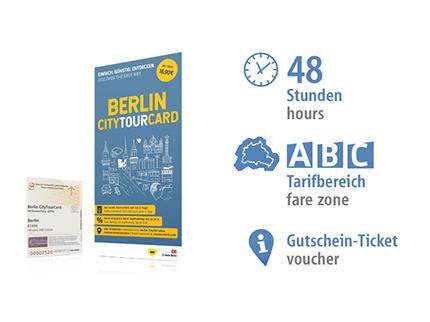 2 Tage ABC | Berlin CityTourCard | Voucher