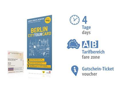 4 Tage AB   Berlin CityTourCard 2019   Voucher